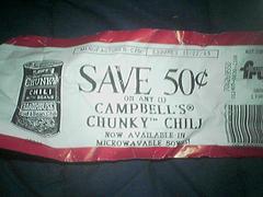 Chili coupon